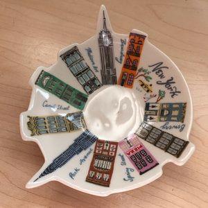 Anthropologie New York Trinket Dish